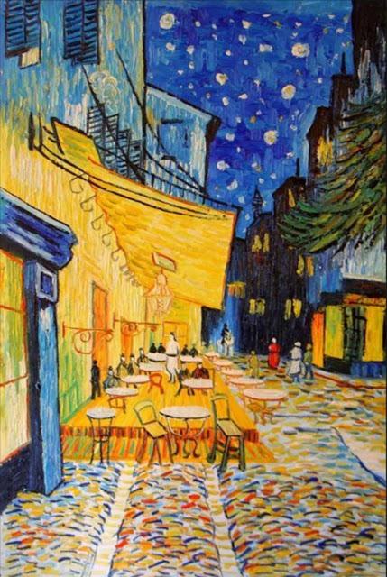 Inspirée de Vincent VAN GOGH